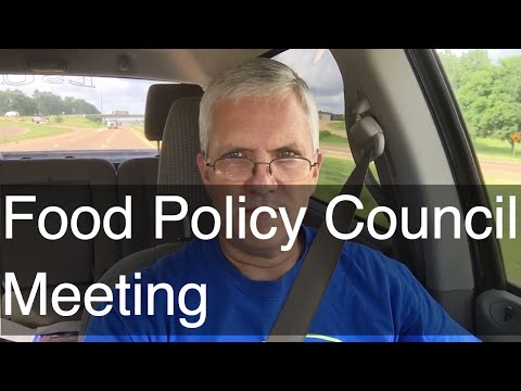 Mississippi Food Policy Council Meeting | AldermanFarms Speaks for Small Local Farms