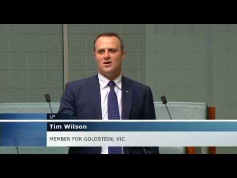 Tim Wilson MP - Comparisons of Aust/NZ Post-GFC Response - House of Representatives