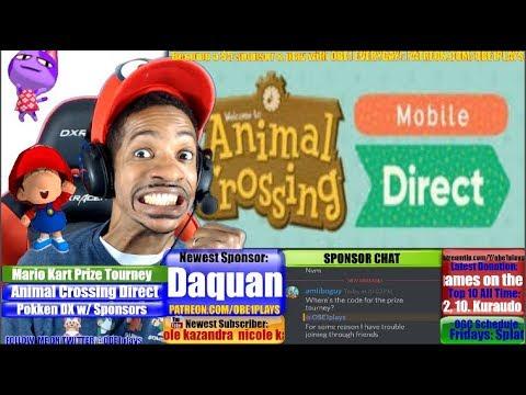Animal Crossing Nintendo Direct Live Reaction! Super Mario Odyssey Preload Live In Japan