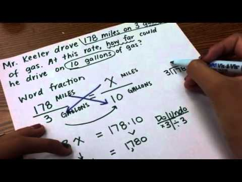 Equivalent Rate Word Problem - Solve with a Proportion