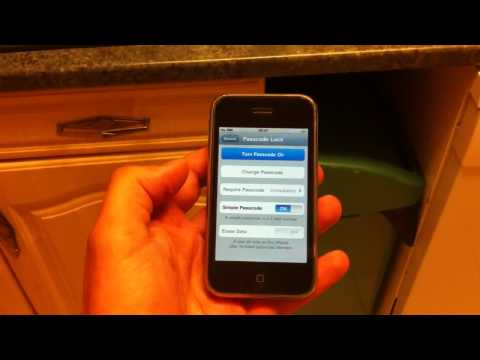 iPhone 3G Home button not working? Use this quick fix :-)