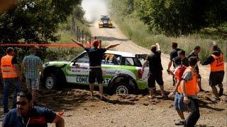 WRC Poland 2015 - Shakedown  Action & Mistakes