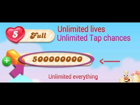 Candy crush jelly Unlimited Lives for ios and android