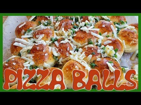 How to Make Mozzarella Pizza Balls | Delicious Pizza Balls Recipe
