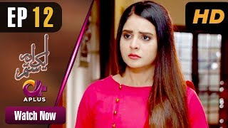 Aik Aur Sitam - Episode 12 | Aplus Dramas | Maria Wasti, Alyy Khan, Beenish Chohan | Pakistani Drama