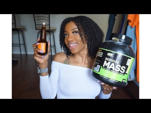 Gain 6 pounds in 2 Two Weeks| Apetamin & Super Mass Weight Gainer Review/Update