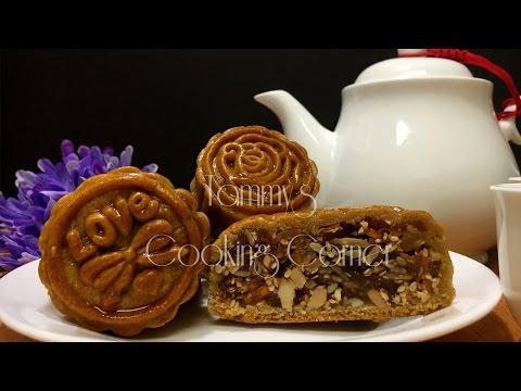 Bánh Trung Thu (Bánh Nướng) TRADITIONAL MOONCAKE RECIPE - Banh Trung Thu Thap Cam