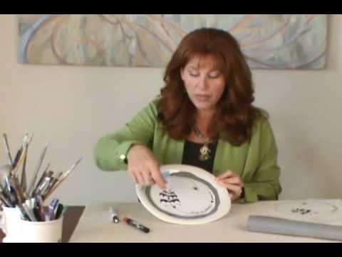 How to Handmake Halloween Plates