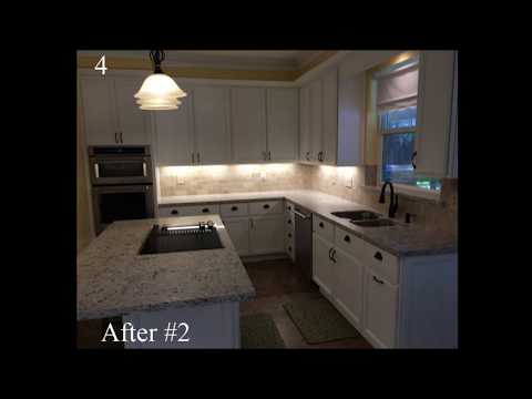 Amazing Before/After Kitchen Refacing Photos-Houston