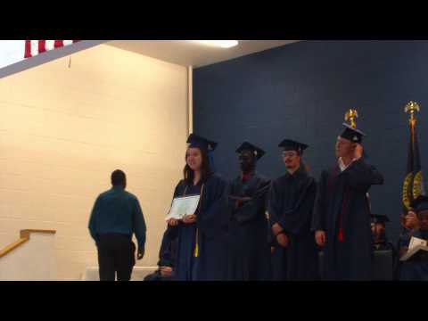 pt 16 this is my daughter getting her diploma from job corps. in nampa idaho