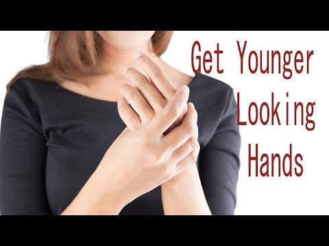 How To Get Younger Looking Hands 3 Minutes | Stop Your Hands From Aging