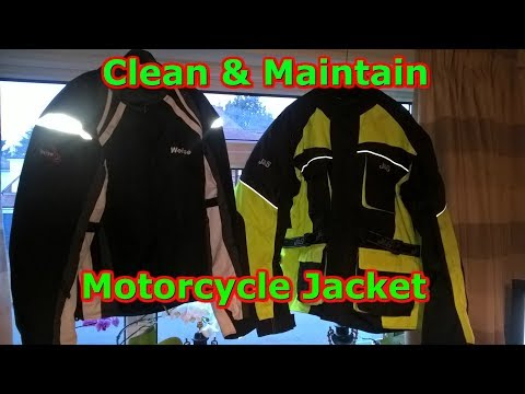Cleaning & Maintaining Your Motorcycle Textile Jacket