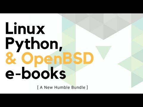 Linux, Python, and OpenBSD ebook Bundle Sweetness