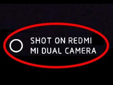 How To Remove Camera Watermark(Shot On Redmi) From Photos & Works For All Xiaomi Phone