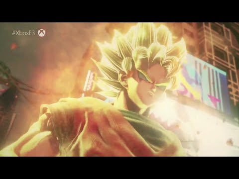 Jump Force - E3 Trailer! (Dragon Ball, Naruto, One Piece, Death Note Cross over!)
