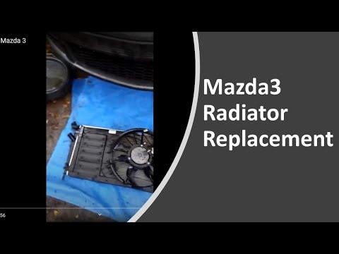 Radiator replacement mazda 3