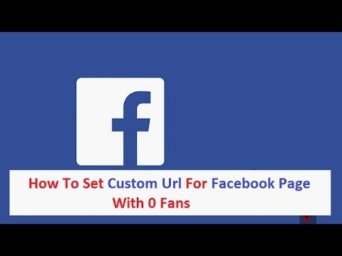 how to create a custom url for your facebook page without having 25 fans