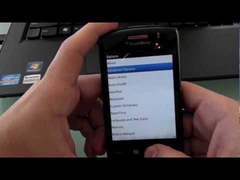 How to Unlock Blackberry Storm 9550 Code
