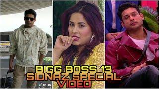Most popular BIGG BOSS 13 special Siddharth shukla and Sahnaj gill tik tok video