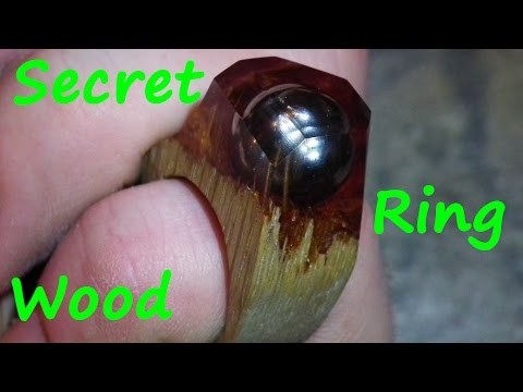 How to make Secret Wood Ring #2