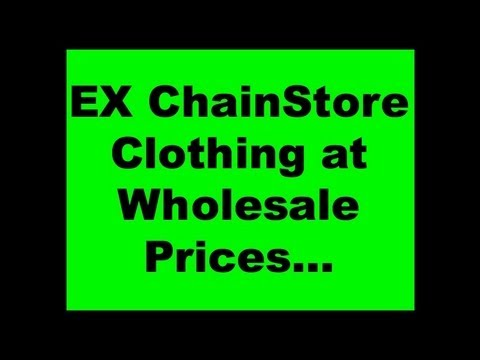 [Ex Store Clothing UK] Chainstore Clothing Wholesalers AllStores-Clothing.com