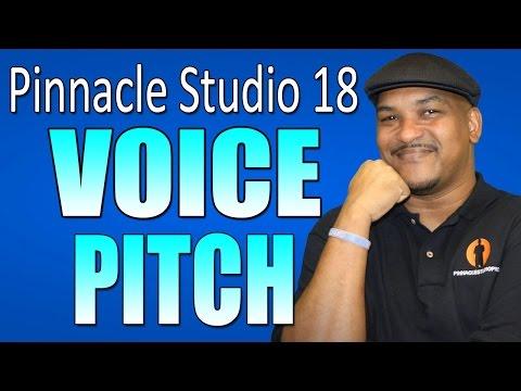 Pinnacle Studio 18 & 19 Ultimate - Voice Pitch Tutorial