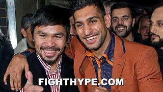 Download (BREAKING!!) PACQUIAO VS. AMIR KHAN ON TAP FOR NOVEMBER IN SAUDI ARABIA AFTER NEXT BOUTS Video