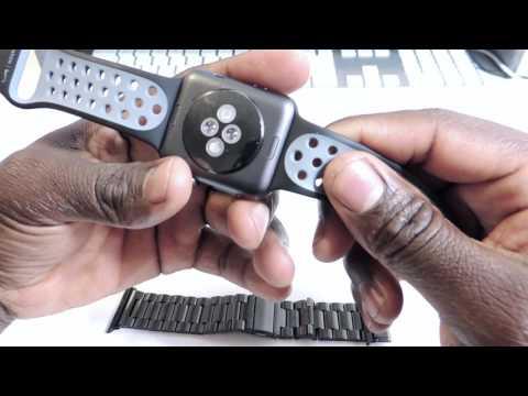 Apple Watch Nike Plus - Black Stainless Steel Band