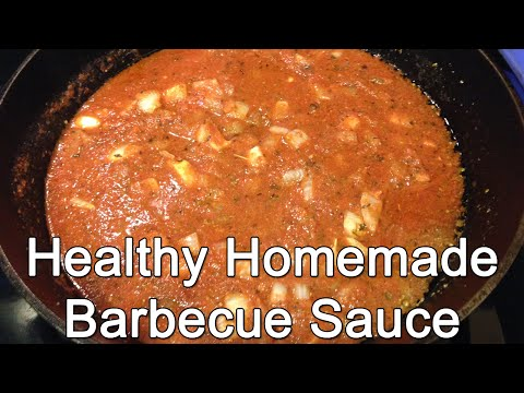 Healthy Homemade Barbecue Sauce