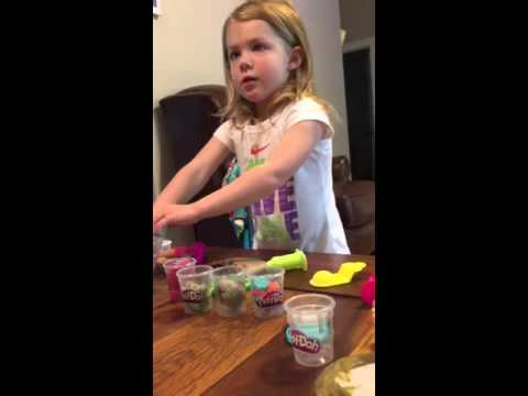 Hudson's First PlayDoh Video