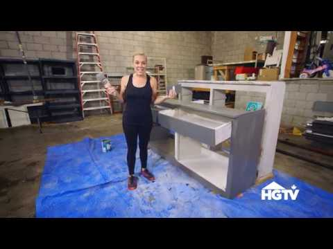 Kortney Wilson's Stylish DIY Cabinet | Masters of Flip