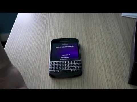 Setting up Blackberry Q10