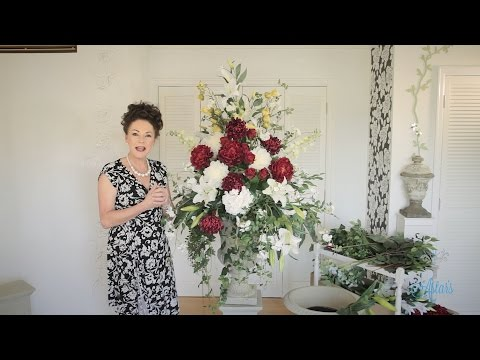 Formal Church Arrangement Floristry Tutorial