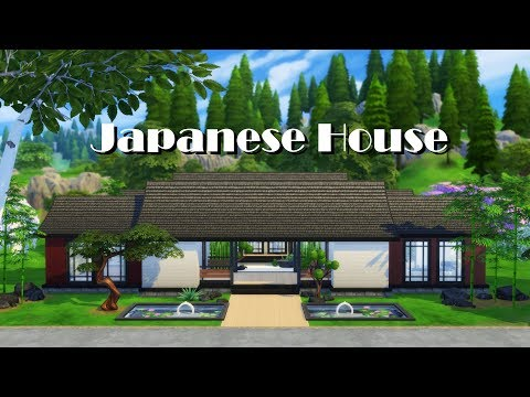 Sims 4 | House Building | Japanese House