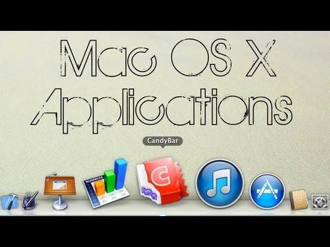 Mac OS X | CandyBar (NEW Winterboard Alternative?! Winterboard for Mac)