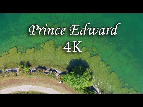 Stunning Aerial Views of Prince Edward County 4K UHD