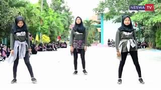 DANCE ENTAH APA YANG MERASUKIMU (SALAH APA) - FLASHMOP ULTAH SMK NESWA