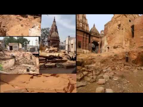 काशी का अस्तित्व खतरे में, विश्वनाथ मंदिर कॉरीडोर,गंगा पाथवे के लिए तोड़े जायेंगे पुराने मंदिर