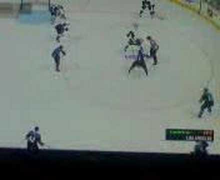 NHL 08 Faceoff Glitch (PS3)