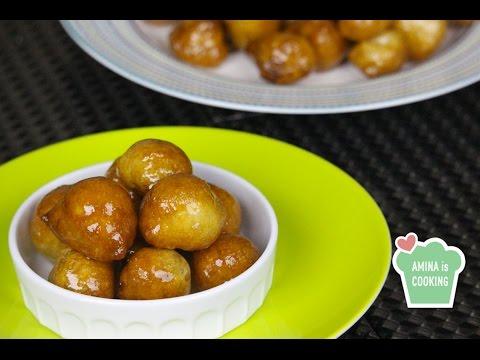 Fried Sweet Dumplings (Awwamet) - Episode 119 - Amina is Cooking