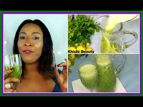 THIS DRINK WILL GET RID OF BELLY FAT | LOSE 7 POUNDS IN SEVEN DAYS |FLAT STOMACH |Khichi Beauty