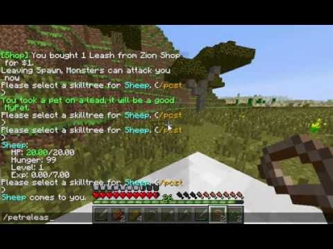How to Tame a Mob in Minecraft