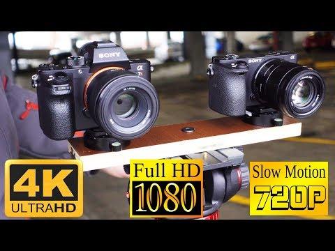 A6500 VS A7rII Video Quality