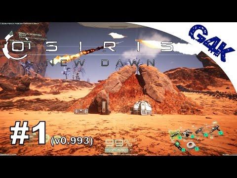 Osiris New Dawn | Great starting Location, Mountain Facility & Solar Flares | S02E01