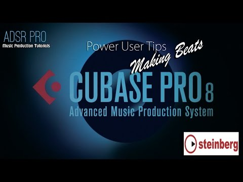 Cubase 8 Pro - Beatmaking / Loopmaking with Audio Samples