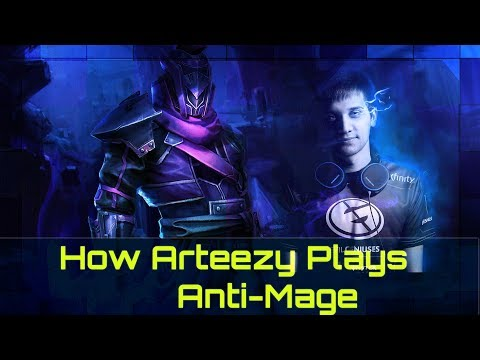 How Arteezy Plays Anti-Mage | Dota 2 Guide