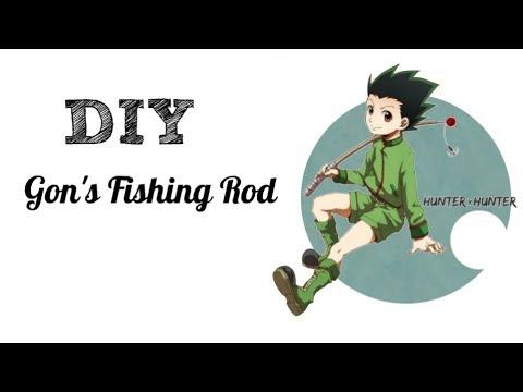 DIY - Gon's Fishing Rod (Hunter X Hunter)