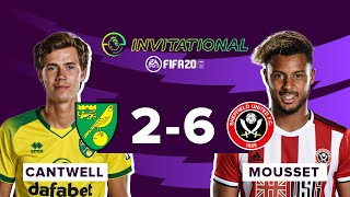Sheffield United 6-2 Norwich | ePL Invitational Highlights | Lys Mousset causes tournament upset!
