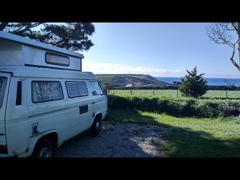 Hairy Jon's Campervan Tour and Adventures Part 1: Cornwall (VW T25/T3 Campervan)