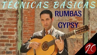 TÉCNICAS BÁSICAS DE RUMBA GYPSY, RITMO,ARPEGIOS,ACORDES... Jerónimo de Carmen-Guitarra Flamenca